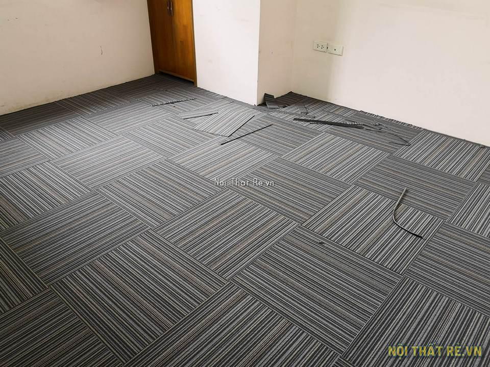 thảm tấm đế cao su dùng cho phòng làm việc