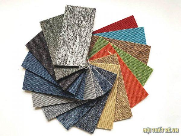 Thảm tấm ghép QBA một màu