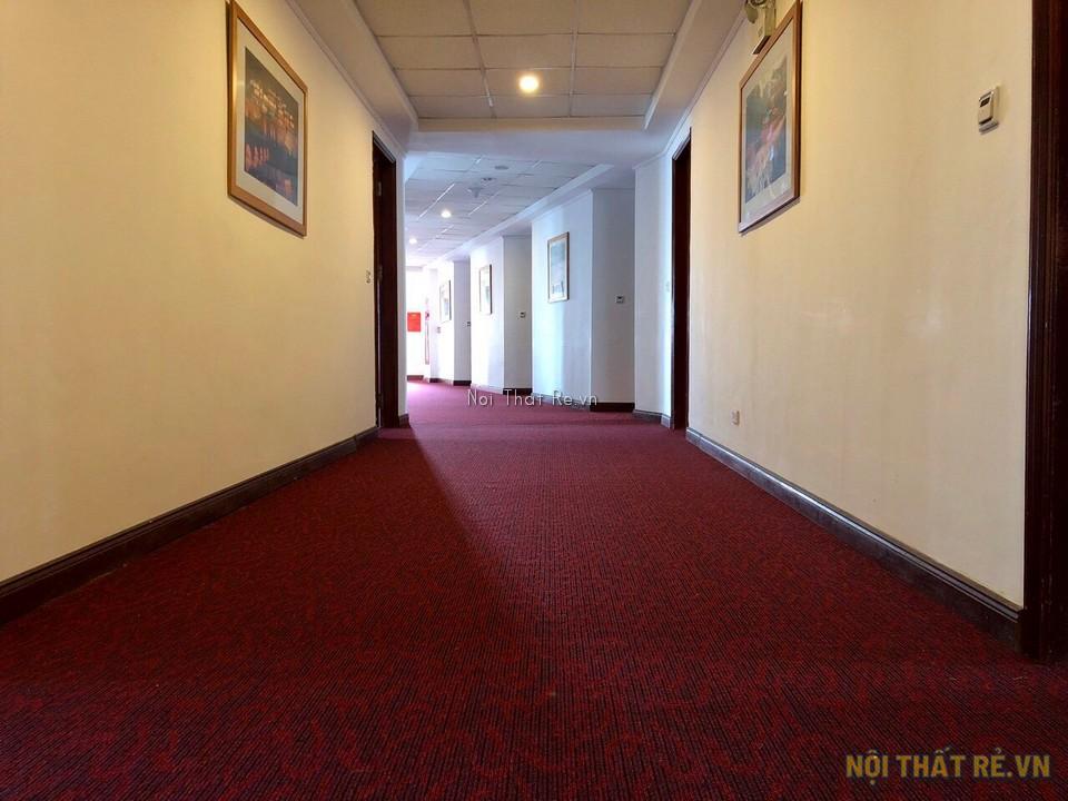 thảm trải sàn dubai sử dụng cho hành lang khách sạn