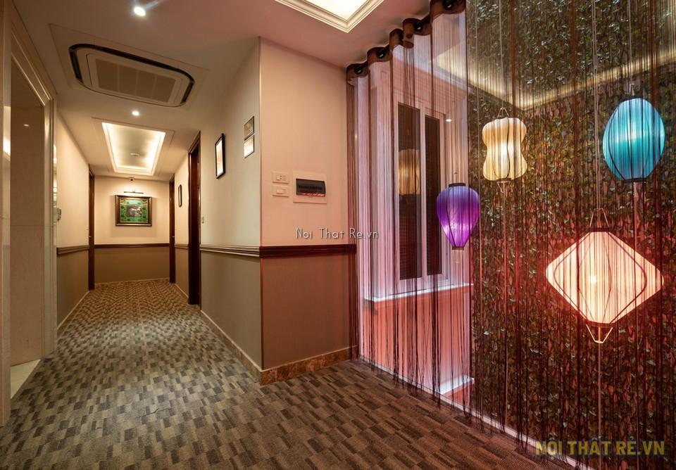 Khu hành lang khách sạn sử dụng thảm dynamic