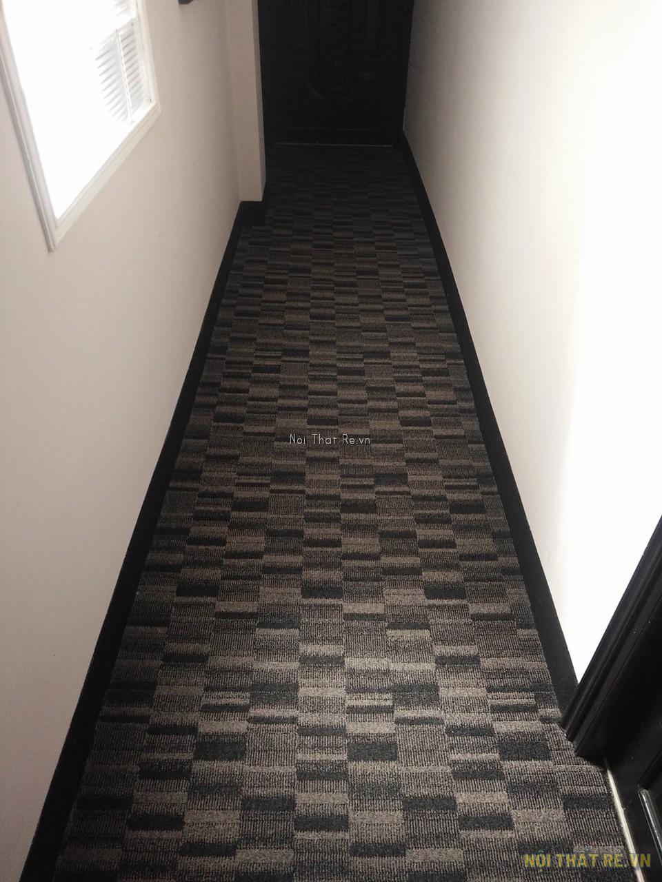 thảm hành lang khách sạn sử dụng thảm trải sàn dynamic